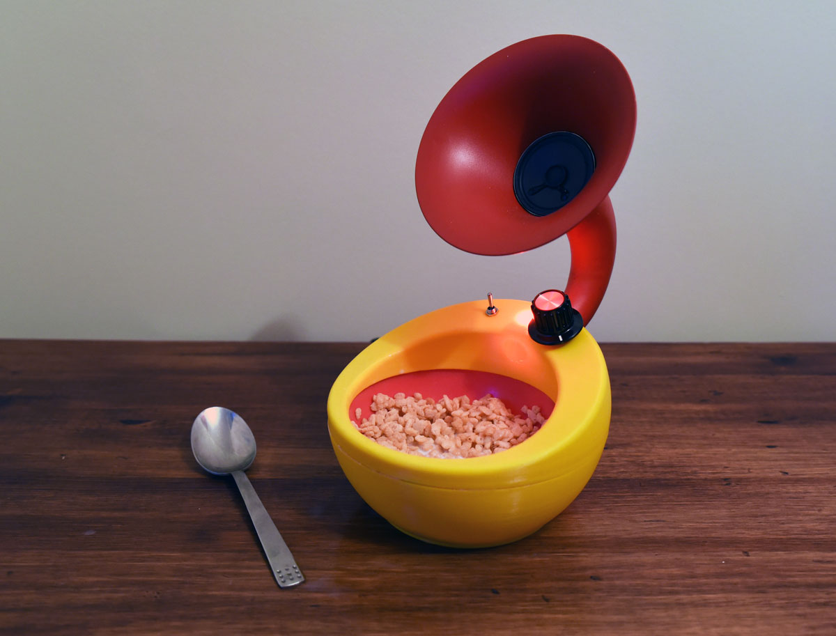 Snap Crackle and Pop Amplifier Bowl
