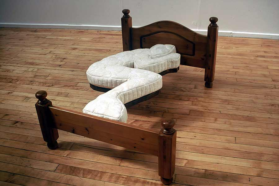 Bed by Dominic Wilcox