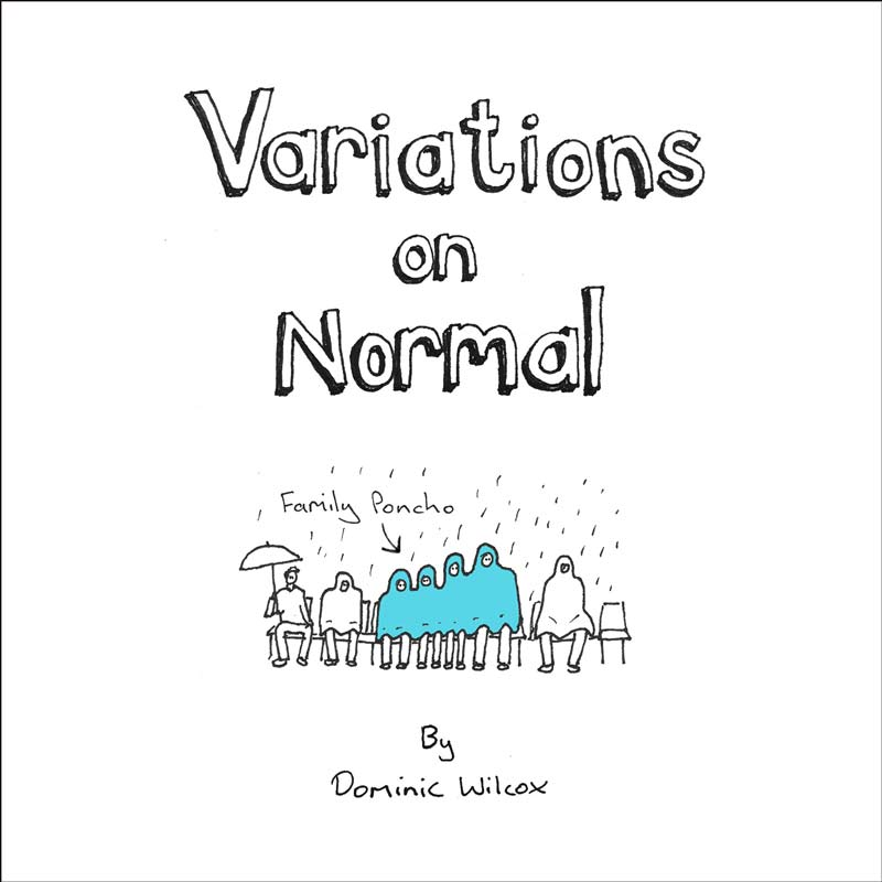 Variations on Normal book by Dominic Wilcox